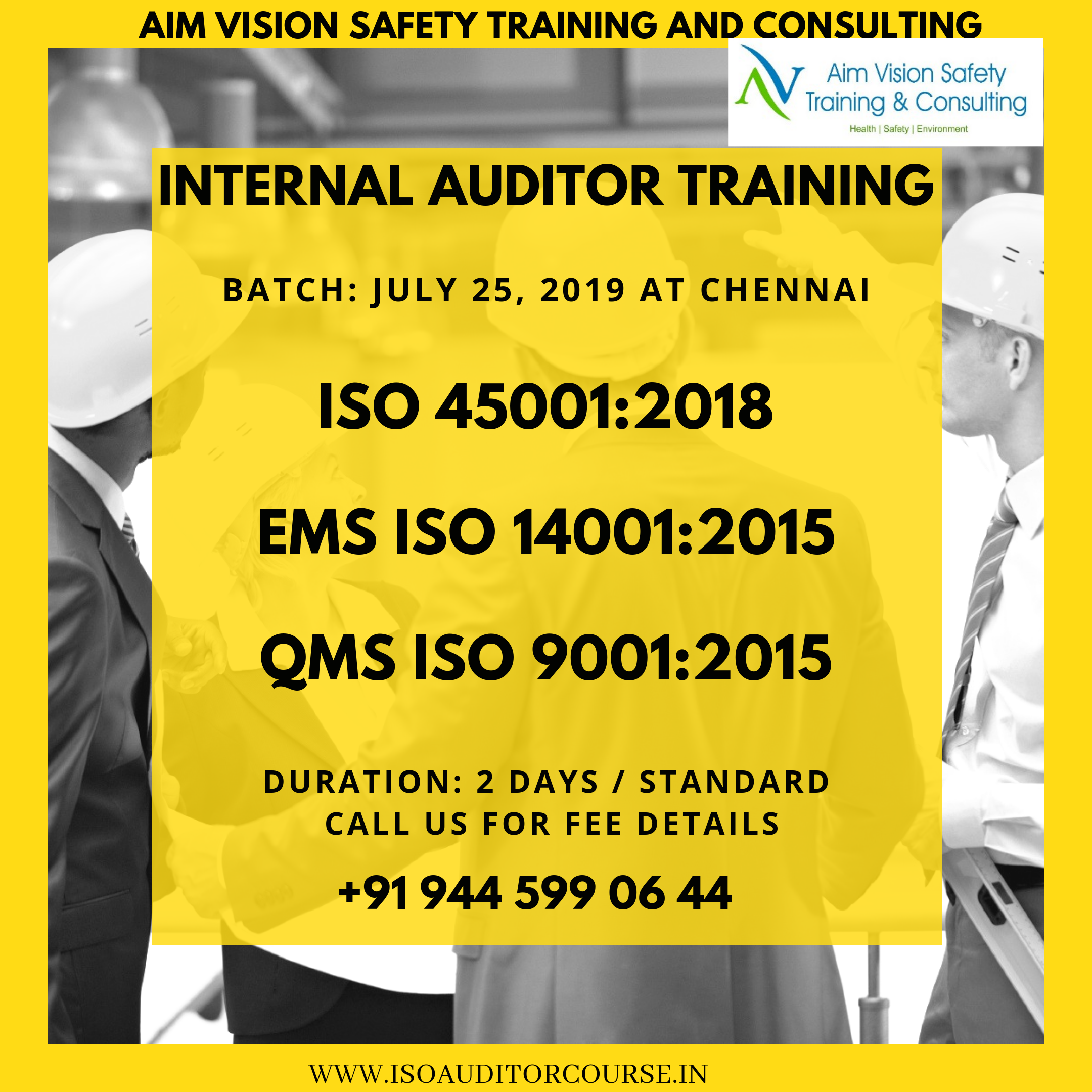 internal auditor courses
